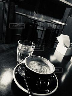 カフェ,京都,アンティーク,旅行,カフェラテ,フィルム,セピア,フィルム写真,フィルムフォト