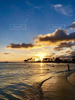 海,空,屋外,雲,夕焼け,波,海辺,フィルム,フィルム写真,フィルムフォト