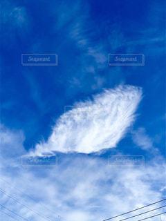 空に雲の群しをするの写真・画像素材[2446922]