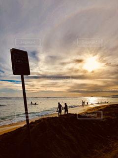 自然,風景,海,空,屋外,太陽,ビーチ,雲,水面,光,ハワイ