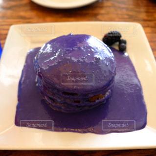 パンケーキ,紫,アメリカ,ハワイ,ワイキキ,Yogur Story,ウベイモ