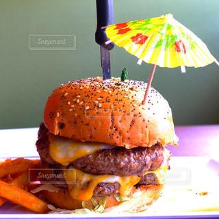 ハンバーガーの写真・画像素材[406865]