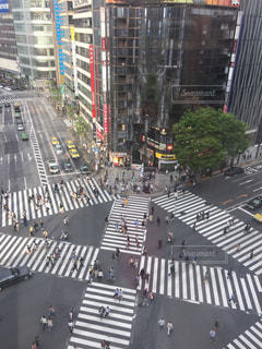 交差点の写真・画像素材[432631]