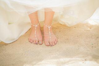 砂浜にての写真・画像素材[4328544]