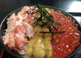贅沢海鮮丼の写真・画像素材[3863739]