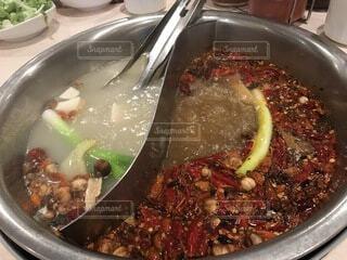 メチャ辛の火鍋の写真・画像素材[3952110]