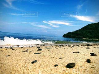 海べの砂浜の写真・画像素材[2279785]