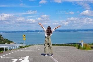豊島に旅行の写真・画像素材[2143102]