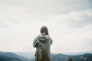 風景,後ろ姿,山,人物,背中,人,後姿,山登り,登山女子