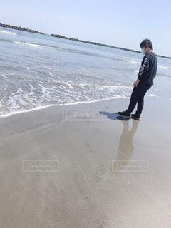 海,幸せ,宮崎,遠距離,かっこいい彼氏の後ろ姿