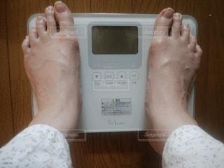 体重計の写真・画像素材[2330414]