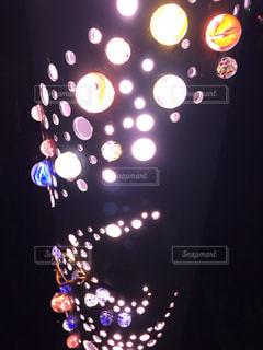 水玉の光たちの写真・画像素材[2478519]