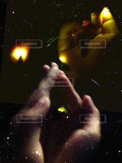 ホタルの光の写真・画像素材[2170972]