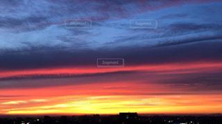 夕焼けの空の写真・画像素材[2414311]