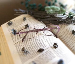 デザイン眼鏡の写真・画像素材[2764211]