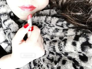 冬の赤色の写真・画像素材[2884604]