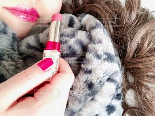 冬のピンク色の写真・画像素材[2884632]