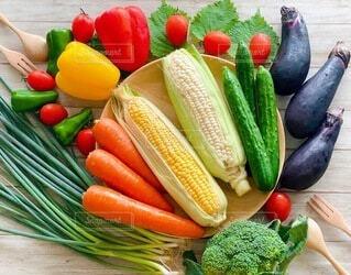 フレッシュ野菜の写真・画像素材[3673831]
