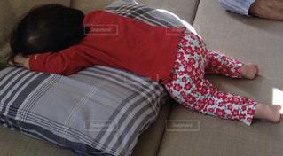 お昼寝の写真・画像素材[2165104]