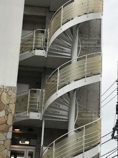 大螺旋階段の写真・画像素材[2187276]