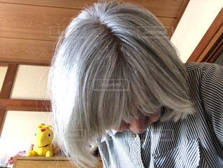 銀髪の写真・画像素材[2285722]