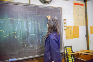 女性,文字,黒板,教室,岐阜,ボード,高山昭和館