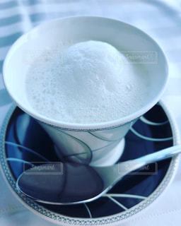 コーヒーカップのクローズアップの写真・画像素材[2292401]