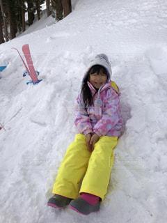 子ども,1人,風景,アウトドア,スポーツ,雪,屋外,少女,人物,スキー,幼児,ゲレンデ,レジャー,若い