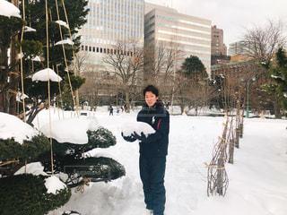 雪遊びの写真・画像素材[2809397]