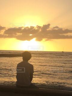 自然,風景,海,空,夕暮れ,海岸
