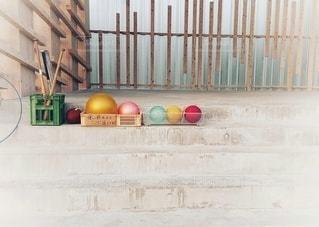カラフルなボール達の写真・画像素材[2365989]