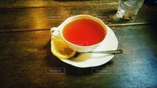 Tea with lemonの写真・画像素材[2623377]