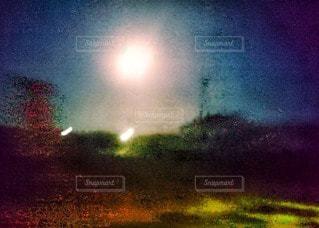 おぼろ月夜の写真・画像素材[2623402]