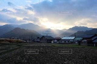 朝の風景の写真・画像素材[2858106]