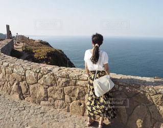 自然,風景,空,夏,綺麗,後ろ姿,海岸,景色,旅行,インスタ映え,レジャー・趣味