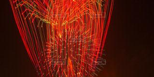 直線花火の写真・画像素材[2349760]