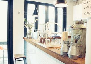 カフェの写真・画像素材[618113]