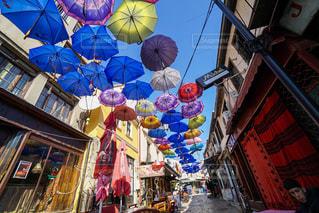 建物,傘,屋外,海外,カラフル,ヨーロッパ,旅行,マケドニア