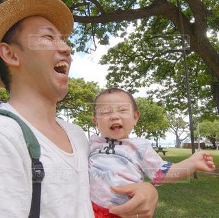 初めての家族旅行(ハワイ)の写真・画像素材[2215514]