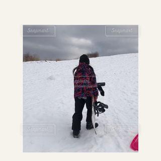子ども,家族,自然,アウトドア,冬,スポーツ,雪,人物,ゲレンデ,レジャー,スキー場,スノーボード,娘