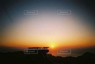 夕陽の写真・画像素材[2214601]