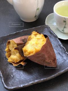 安納芋の焼き芋❤︎の写真・画像素材[2698542]