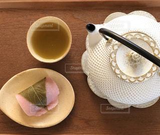 桜餅の季節の写真・画像素材[2972587]