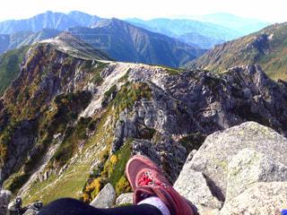 山を見渡すの写真・画像素材[2213123]