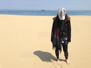 砂丘の写真・画像素材[2261300]