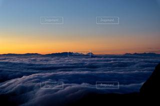 雲海と富士山の写真・画像素材[2426811]