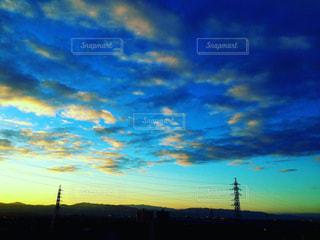 朝焼け雲の写真・画像素材[2429119]