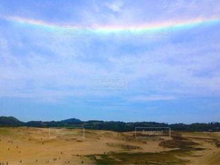 逆さ虹🌈の写真・画像素材[2597338]