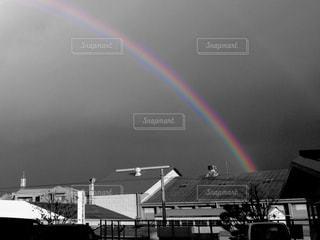アートな虹の写真・画像素材[2597344]