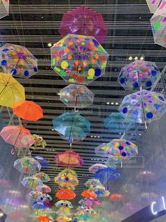 傘,カラフル,アンブレラ,アンブレラスカイ